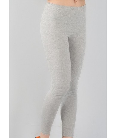 New Arrival Fashion Casual bamboo fiber high elastic leggings plus size 7XL big size Women's pants - Gray - 4M3947851206-4