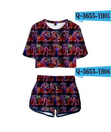 Hot Sale Stranger things 3D Print Two Piece Sets Women Sexy Beautiful 3D Stranger things T Shirt+Shorts Women Slim Sets - 3D...