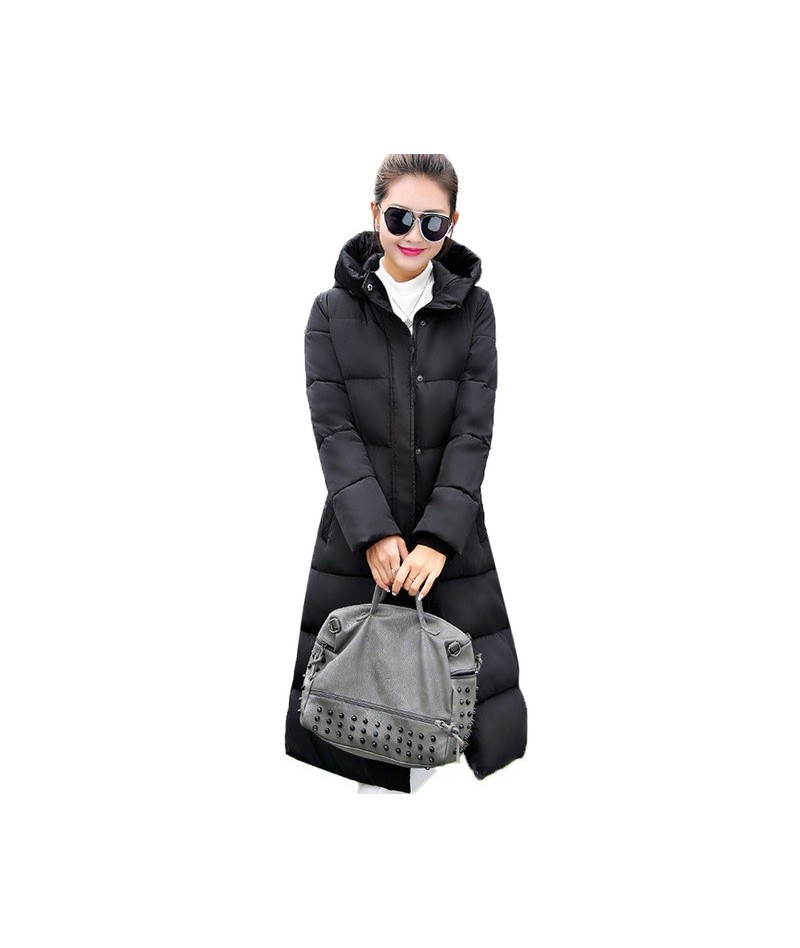 Fashion Winter Jacket Women 2019 Thick Warm Female Jacket Cotton Coat Parkas Long jaqueta feminina inverno Women Hooded Coat...