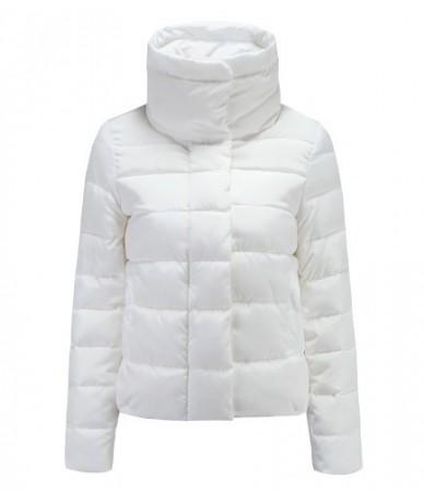 2019 New Autumn Winter jacket Women Coat Fashion Female Down jacket Women Parkas Casual Jackets Inverno Parka Wadded - white...