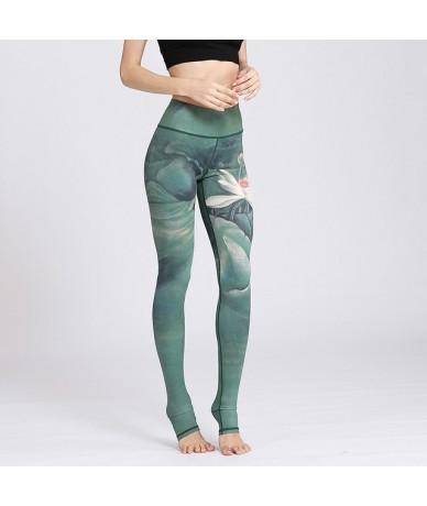 Print Elastic Seamless Leggings Women High Waist Fitness Trousers Hot Leggins mujer leginsy damskie Workout Joggers Pants - ...