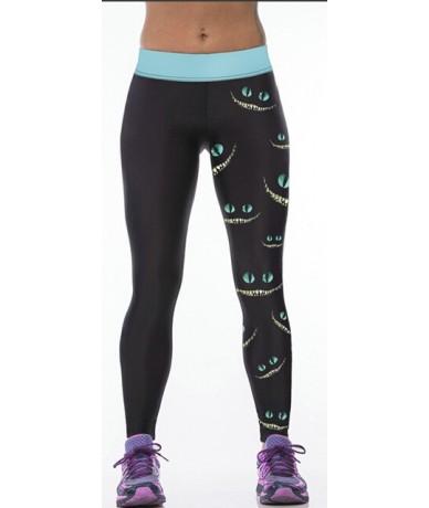 High Waist Workout Leggings 3d Print Skull Legging Push Up Breathable Spandex Fitness Clothing Sporting Leggins Women Pants ...