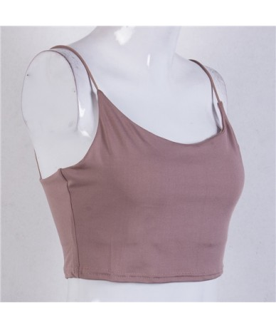 New Fashion Women Cross Strappy Tank Tops Bustier Vest Crop Top Bralette Women Sexy Clothes - As photo shows - 4N3018061446-2