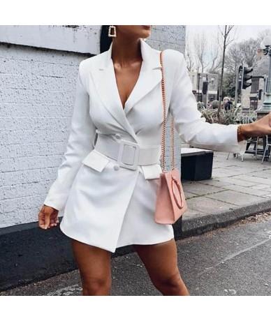 Sashes Dress Blazer Female Ladies Blazer Woman 2019 Work Wear Women Blazers and Jackets Femme Office Lady Formal Women's Jac...
