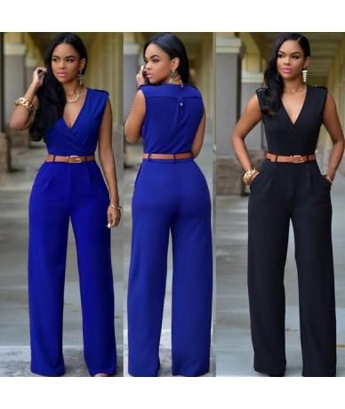 women jumpsuit romper 2018 Autumn Summer elegant party Cut out bodycon playsuits long sleeve zipper overall WF669 - Khaki - ...