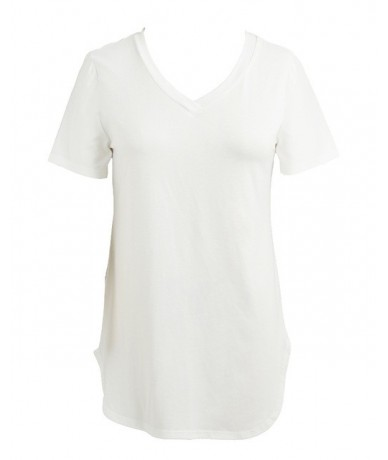 2019 Summer tshirt Women T-shirts Large Sizes T shirt V Neck Short Sleeve Casual Tee Tops female Tunic Plus Size 5XL Drop Sh...