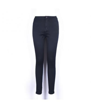 High Waisted Jeans Skinny Fashionnova Woman Pencil Pants Raise The Hip Cotton High Elasticity Jeans Woman - Black - 46411804...