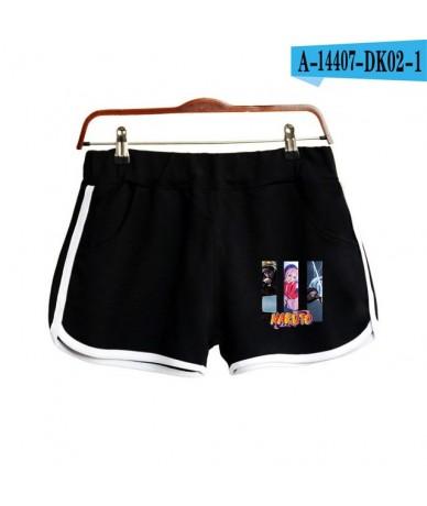 NARUTO Anime New 2D Printing Shorts Kpop Fashion Cool Street Shorts Hot Ladies Fashion Hipster Sexy Casual Summer Shorts - B...