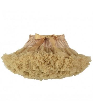 Cosplay fluffy Teenage tutu skirt veil performances skirt Sexy Role Play Pleate Mini Skirt Ruffle for Schoolgirl - Color T -...
