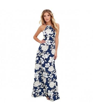 Maxi Long Dress 2019 Summer Dresses Women Floral Print Boho Dress Plus Size 5XL Sleeveless Beach Holiday Slip Dress female g...