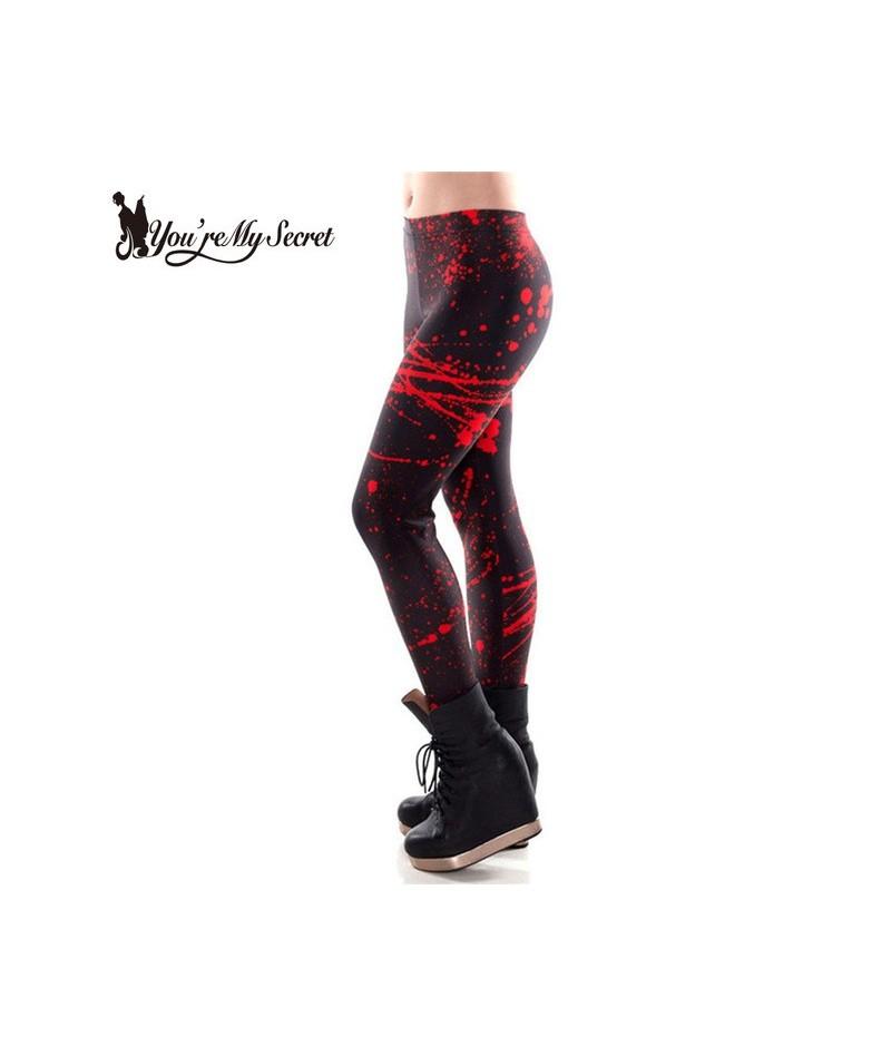 Fashion Cartoon Comic Doodles Printing Plus Size Leggings High Elastic Women Fitness Leggins Mujer Slim Pants - KDK1393 - 4F...