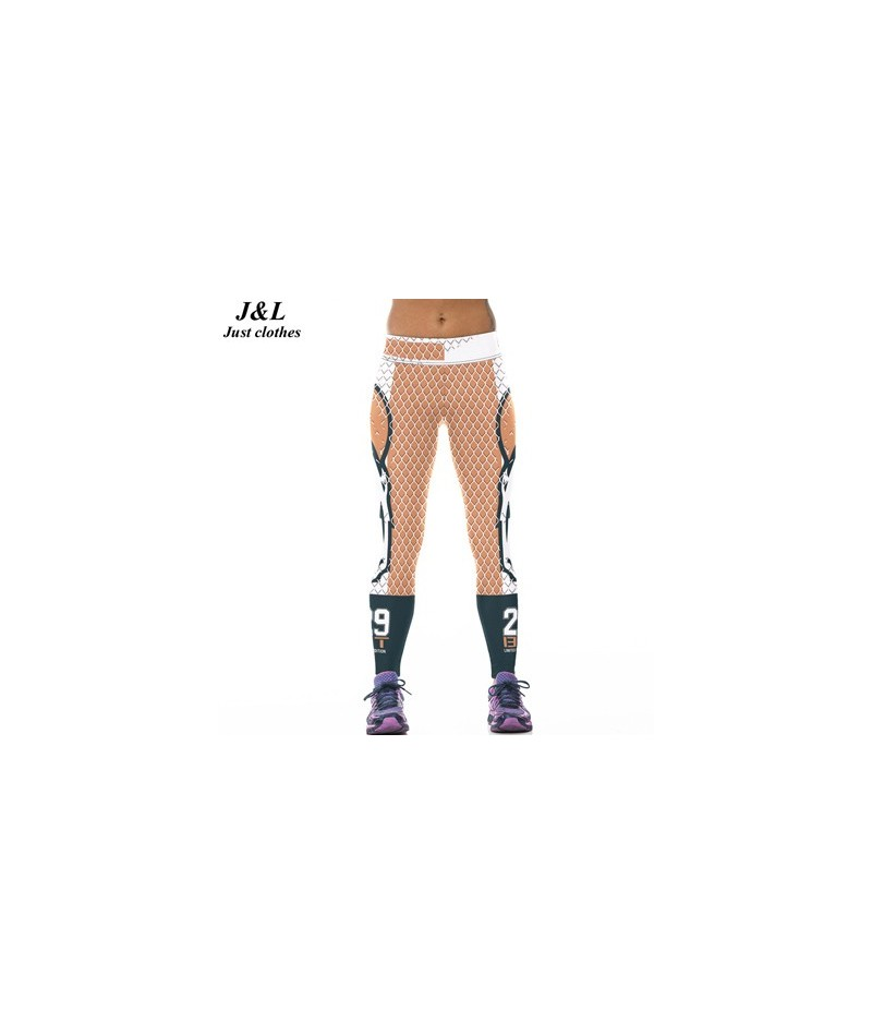 Classic Captain America 3D Print Women Sporting Leggings Sexy Fitness Pants Female Elastic Workout Clothes Ropa Mujer - A12 ...