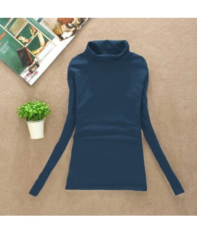 2019 High quality Fashion Spring Autumn Winter sweater women wool turtleneck pullovers long sleeve big size women clothing 9...