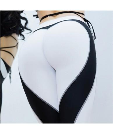 2018 New Heart Leggings For Women Athleisure Push Up Women's Pants Bodybuilding Sporting Jeggings Sexy Fitness Legging - whi...