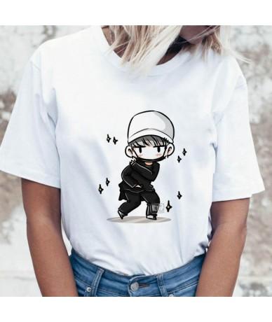 Kpop T Shirt Suga J Hope Women Jin JIMIN V Top Tshirt for K Pop Korean Fashion Tees Funny Female T-shirt K-pop - 1169 - 4B41...
