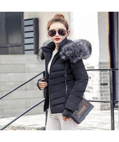 parka Winter Jackets Women2019 Fashion Wadded Coat Female jacket Women Winter New Slim Warm Down cotton clothing Long sleeve...