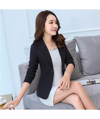 Blazer Feminino Fashion Spring Autumn Casual Ladies Office Plus Size Women Blazers Jackets Coat Suits Elegant Blazer S-5XL Q...
