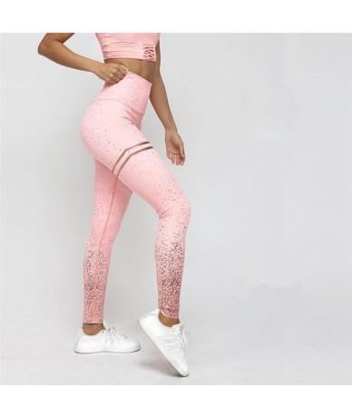 New Double Ring Printing Leggings Women Leggings for fitness Polyester High Waist Pants High Waist Solid Workout Legging Wom...