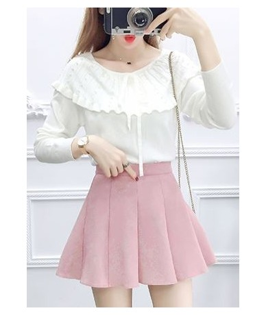 Autumn New Skirt Fashion Suits Women Long-Sleeved Sweater Knit Bust Skirt Two-Piece Clothing Set Girl Outfit Knitwear - set ...
