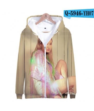 Leisure HIP HOP EXID Zipper Jacket 3D Hoodies Sweatshirt Women Harajuku EXID Hoodies Women Plus Size for women - D - 4G41533...