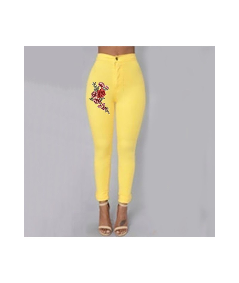 2019 Fashion Skinny Jeans Woman Denim Trousers Solid Slim Bodycon High Waist Wash Plus Size Pencil Pants Female Casual S-XXX...