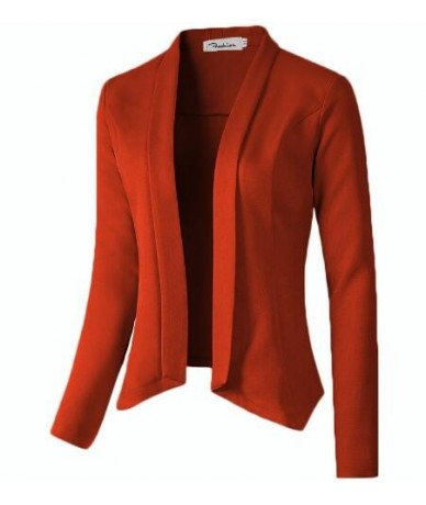 2019 Spring Autumn Women Blazers Ladies Casual Work Office Blazer Suit Female Slim None Button Business Female Blazer Coat -...