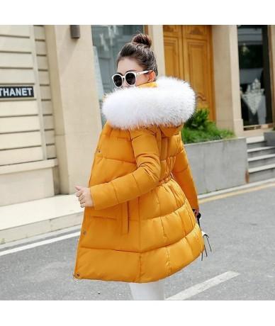 Winter Jacket Womens Outwear Parkas for Women Winter down jacket Big Fur 2019 New Parkas Female Women Winter Coat Thick Cott...