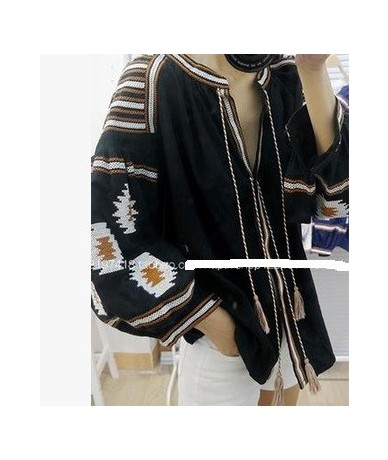 boho embroidery ethnic shirt cotton ethnic blouse summer women blouses and shirts embroidered top size autumn designs cotton...
