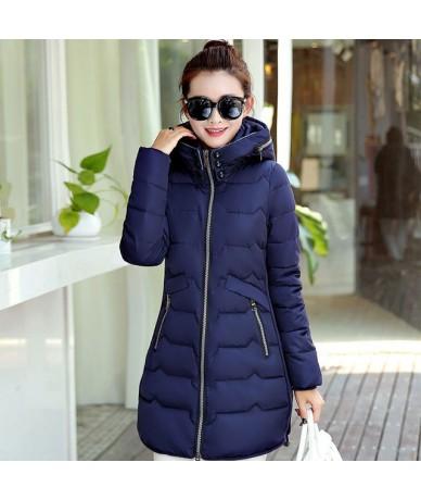 Winter Jacket Women Parka Coat Plus Size 6XL 7XL Warm Thick Jacket Outerwear Hooded Coat Slim Down Cotton Jacket 10 Colors Q...