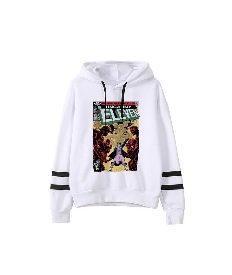 Kpop Stranger Things Hoodie Woman Hooded Hoodies Sweatshirts Kawaii Korean Oversized Harajuku Hip Hop Hoodie Sweatshirt Wome...