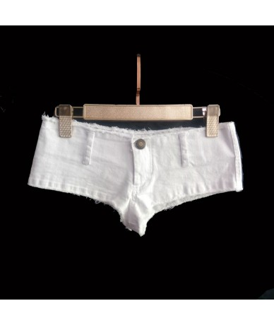 Sexy Women Tassel Low Rise Waist Hot Short Sexy Denim Booty Sexy Jeans Shorts Vintage Cute Micro Mini Short Club Wear Plus S...