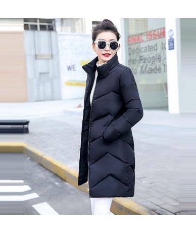 Winter Jacket For Women 2019 New Fashion White Coat Female Jackets Woman Winter Coat Hooded Slim Women Parkas Warm Outwear -...