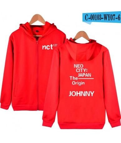 NCT 127 Zipper Hoodies Sweatshirt 2019 New Cool Kpop College Style New Style Autumn/Winter Cool Casual Fashion Zipper Sweats...