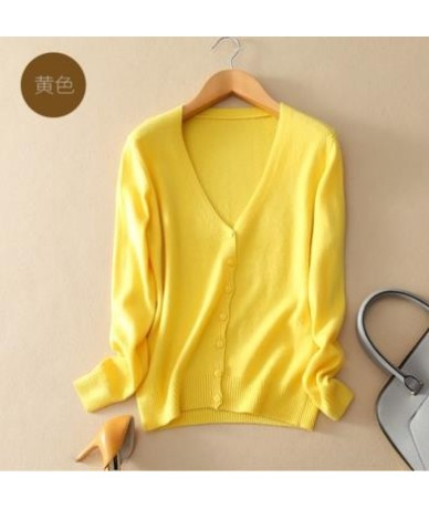 Cashmere Sweater Women Knitted Crochet Coat Female Jumper Pull Femme Hiver Jersey Casual Streetwear Single Breasted Cardigan...