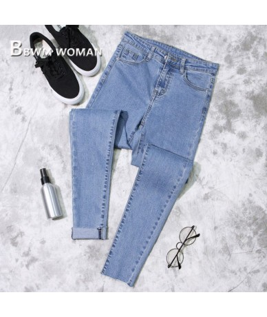 2019 Spring Slim Tight Women Jeans 3 Color Can Choose Female Trousers Pants - picture - 4Z4138066021-3