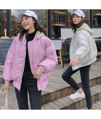 Korean Style 2019 Fashion Winter Jacket Women Hooded Double Two Sides Cotton Padded Female Outwear Parka Ovesized Coat - Pin...