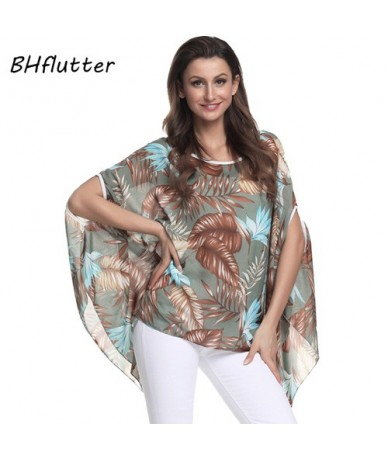 4XL 5XL 6XL Plus Size Women Clothing 2018 New Casual Chiffon Blouse Shirt Batwing Sleeve O neck Summer Top Tee Blusas - Gold...