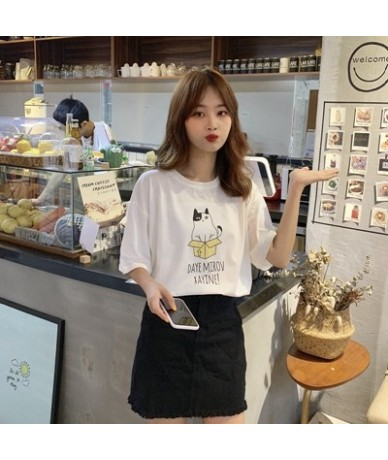 Korean Style Women T shirt Cotton Summer Harajuku Kpop Love Yourself Answer Album Printed Pastel Color Tops tee shirt femme ...