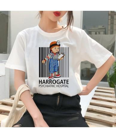 chucky t shirt Horror High cool women top Quality new streetwear tee t-shirt fashion ulzzang female shirts femme new tshirt ...