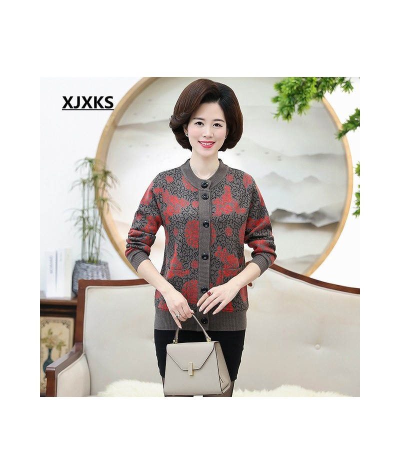 Women Winter Sweater Jacket Casual Knitting Female Cardigan O Neck Long Sleeve Women Sweater Outwear 8026 - Camel - 4Z393031...