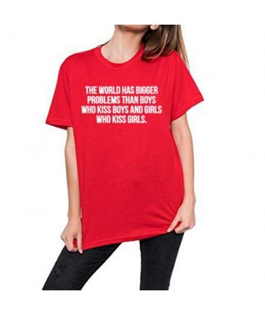 tee shirt women t shirt the world has bigger problems than boys girls Girlslove LGBT t-shirt Lesbian Gay homosexual Bisexual...