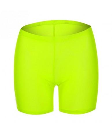 Summer Women Shorts Transparent Casual Pink Green Shorts Ladies Solid Color Slim Fishnet Mesh Yellow Short Sexy Mesh Shorts ...