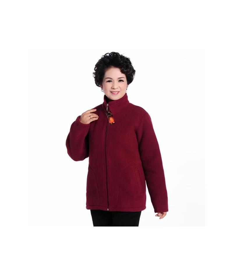 Mother's Coat 2017 Super Warm Winter Jacket Coat Ladies Women Jacket Warm Fleece Women Jacket - 8 - 4E3922761239-7