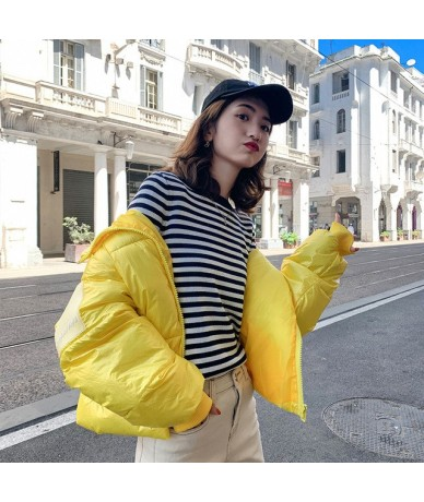 New Women Glossy Parka Winter Thick Long Sleeve Warm Female Jacket Coat Cotton Padded Down Parkas Chaquetas Mujer Invierno -...
