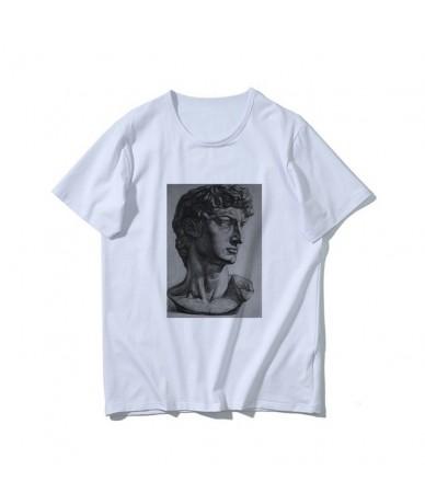 Harajuku Fun David Michelangelo Statue Print Summer New Fashion Casual Women's T-Shirt Tops - 6 - 433085352655-6
