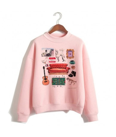 Friends TV Show women hoodie female hooy hoodies Harajuku Oversized Femme 90s girls Sweatshirts Print Long Sleeve clothes - ...