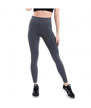 Solid High Waist Seamless Leggings Women Elastic Leggings Sweatpants Female Fitness Clothing Push Up Workout Leggings - Dark...