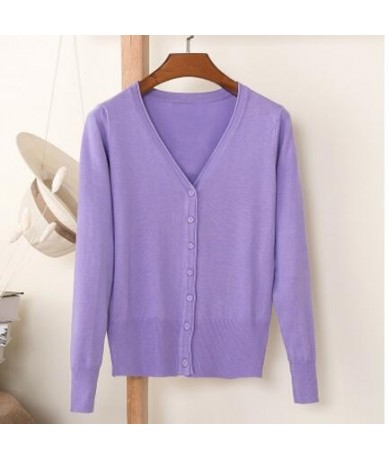 2017 Spring Cardigan Women Korean V Neck Knitted Cardigan Feminino Ladies Long Sleeve Loose Buttons Cardigan Thin Coat ZY360...