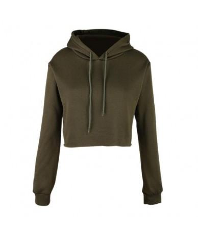 Cute Cat Ear Womens Sweatshirts Hoodie Crop Tops Long Sleeve Hoodies Femme Cropped Sweatshirt Slim Short Hooded Pullover 201...