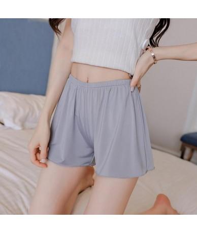 Women Soft Shorts Spandex Seamless Short Pants Summer Under Skirt Shorts Modal Breathable Short Plus L-XXXL Size Hot - D114 ...